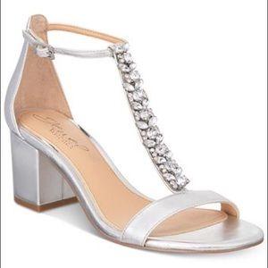 NWOT Badgley Mischka Jewel Heels